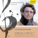 Felix Mendelssohn Bartholdy - vol.1 Heidelberger Sinfoniker Leitung: Thomas Fey Gesamteinspielung