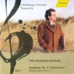 Felix Mendelssohn Bartholdy - vol.5 Heidelberger Sinfoniker Leitung: Thomas Fey Gesamteinspielung