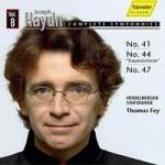 Joseph Haydn - vol.8 Heidelberger Sinfoniker Leitung: Thomas Fey Gesamteinspielung